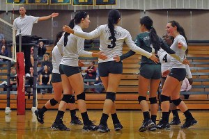 The Lady Dolphins were defeated 3-0 by Bellevue.