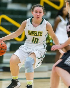 Shoreline CC Women's basketball team hosts Olympic College