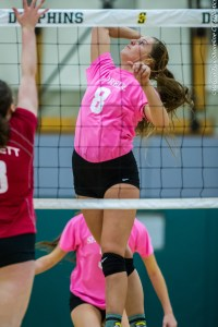 Shoreline CC volleyball team hosts Everett CC