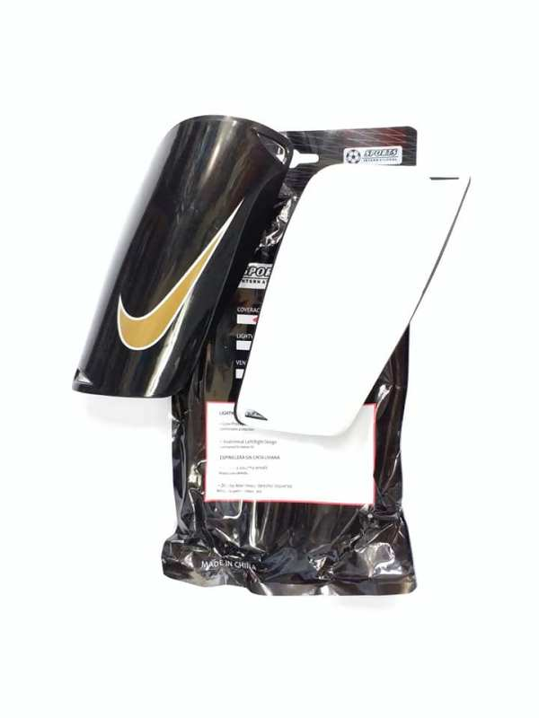 Mercurial Black Shin Guards