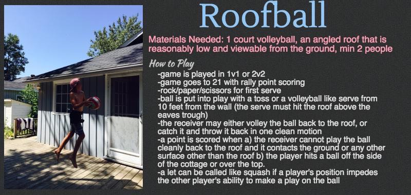 Cottage Games - Roofball (1)