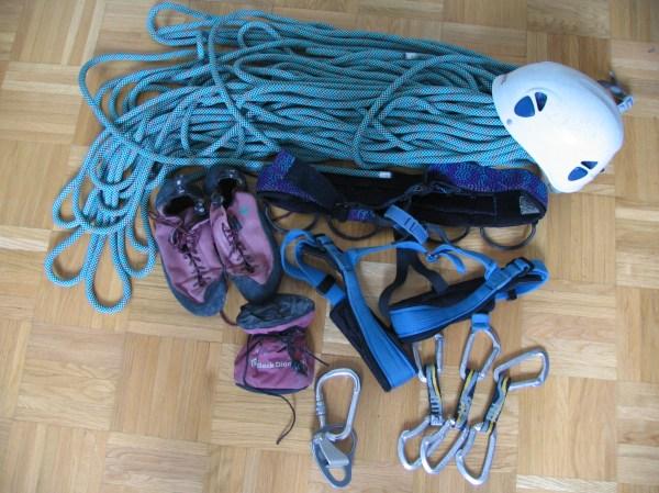 Rock Climbing Gear Equipment