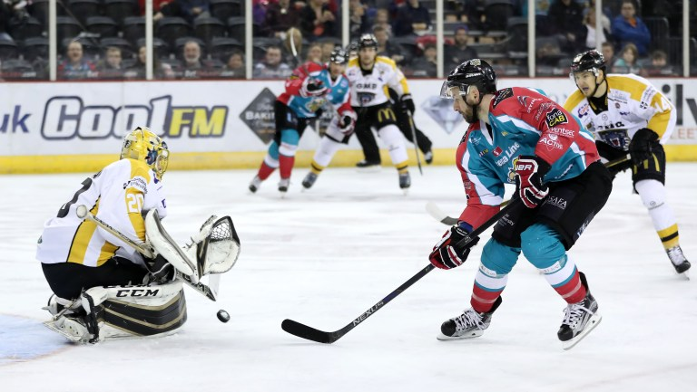 Belfast Giants v Nottingham Panthers - Elite Ice Hockey League