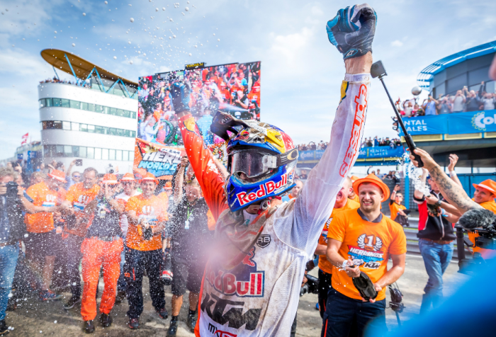Jeffrey Herlings, 2018 MXGP World Champion