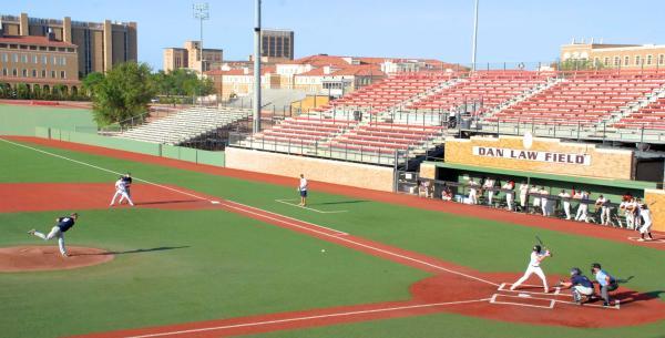 Texas Tech Baseball Field