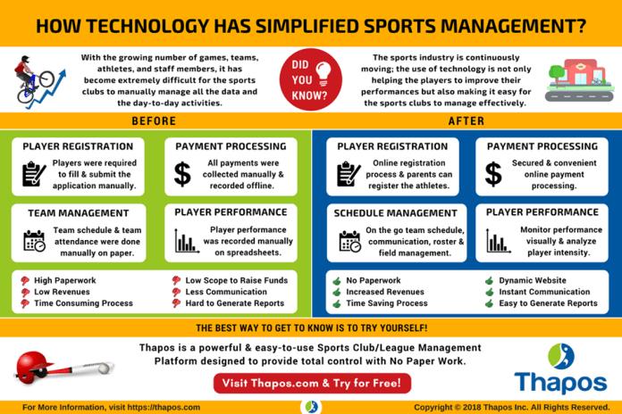sport management app