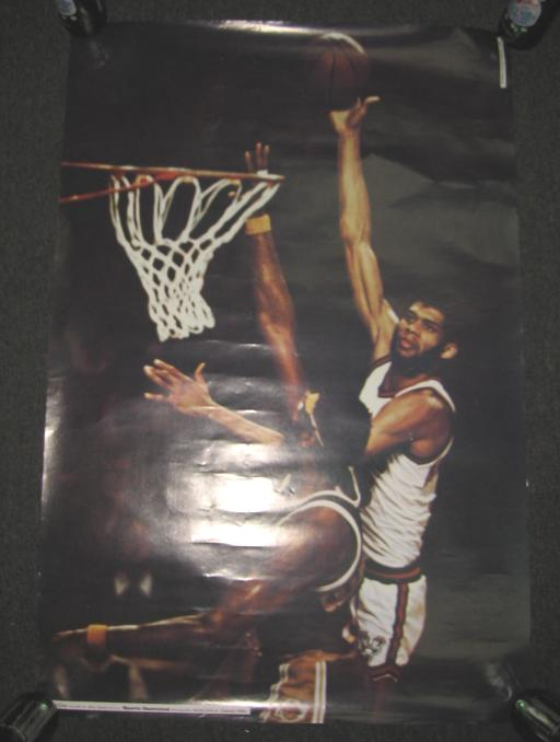 Kareem Abdul-Jabbar 1974 SI Poster Studio One Milwaukee Bucks