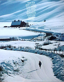 Winter Runner RUNNER'S PASSIONPoster