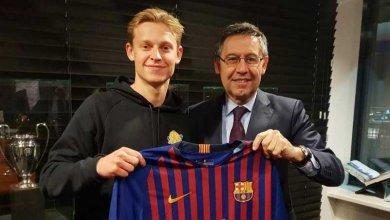 Photo of Frenkie de Jong: I chose Barcelona over City and PSG