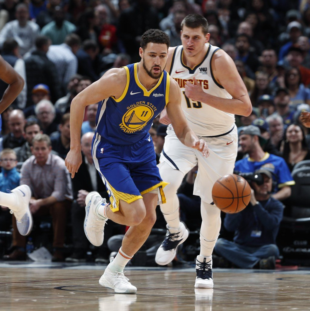 Klay, Curry Lead As Warriors Score NBA Record 51 Points In