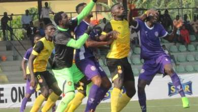 Photo of Ilechukwu happy with MFM's fantastic win against Wikki