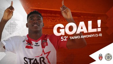 Photo of Red-hot Awoniyi scores the only goal in Mouscron tough win against Lokeren