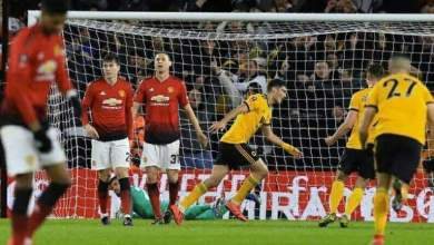 Photo of Wolves 2 Manchester United 1: Jimenez and Jota seal last-four spot
