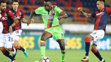 Photo of Simeone Nwankwo scores two to help Crotone beat Carpi at Stadio Sandro Cabassi