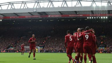 Photo of Liverpool 4 Burnley 2: Salah fires blank as Firmino and Mane keep Reds hot on City´s heels