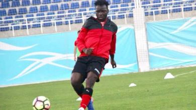 Photo of Olabiran Blessing Muyiwa who turned down Cote d'Ivoire to play for Nigeria relishing U23 challenge