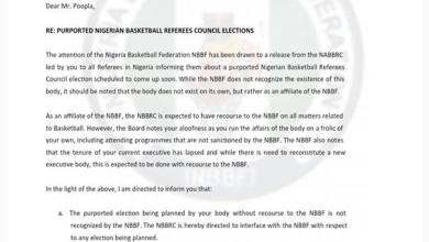 Photo of NBBF calls for due process in NBBRC electoral process