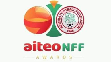 Photo of Musa, Ebi win top awards- All the winners at AITEO-NFF awards