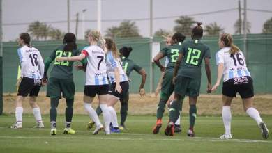 Photo of Nigeria 6 UMF Selfoss 1: Courtney Dike and Ini Umotong scores five goals to help Falcons roll Icelandic club over