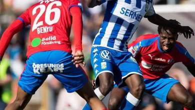 Photo of Alhassan Yusuf branded 'far too good' to sit on bench or play on the wings in Sweden