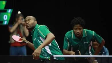 Photo of #ITTFWorld2019 Quadri, Omotayo fall to Boll & Franziska in Men's Doubles Round One