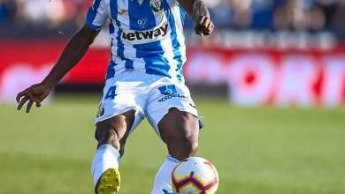 Photo of Kenneth Omeruo saves a sure goal, named Man of the Match in Leganes-Celta goalless draw