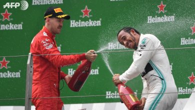 Photo of Hamilton goes top of F1 standings with sixth win in China