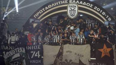 Photo of Chuba Akpom helps PAOK win their first Greek Super League title in 34 years
