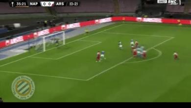 Photo of VIDEO: Alexandre Lacazette scores 35-yard free-kick for Arsenal at Napoli