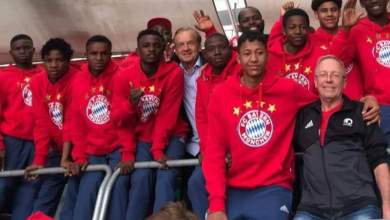 Photo of Gernot Rohr supports Nigeria team to FC Bayern Youth Cup