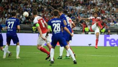 Photo of Alex Iwobi sets an European club competition final record in Arsenal's 4-1 loss to Chelsea