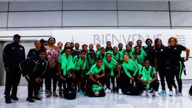 Photo of Super Falcons Arrive France For FIFA Women's World Cup