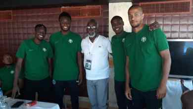 Photo of Pinnick Charges Super Eagles As Team Settles Down In Alexandria