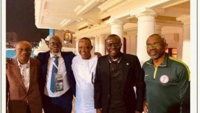 Photo of NFF Hails Dignitaries Who Cheered Nigeria to Victory Against Cameroon