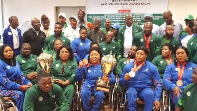 Photo of SPORTS MINISTRY WELCOMES VICTORIOUS PARA POWERLIFTING TEAM