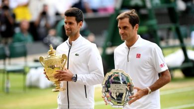 Photo of Novak Djokovic beats Roger Federer in longest final to claim his 5th Wimbledon and 16th Grand Slam title