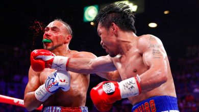 Photo of Pacquiao beats Keith Thurman to claim the WBA World Welterweight Title at 40