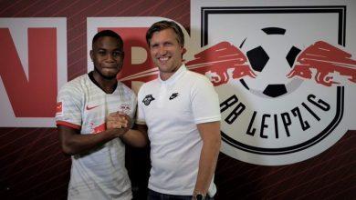 Photo of Ademola Lookman joins Leipzig from Everton