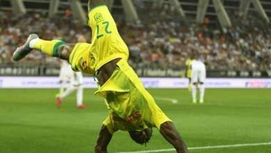 Photo of Moses Simon scores winner for Nantes in debut game