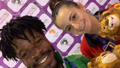 Photo of Olajide Omotayo & Dina Meshref are African Games Champions