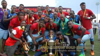 Photo of Niger Tornadoes Are 2019 Ogunjobi Gold Cup Champions