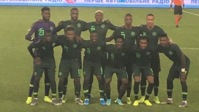 Photo of Friendly: Ukraine force 'new' Super Eagles to 2-2 draw