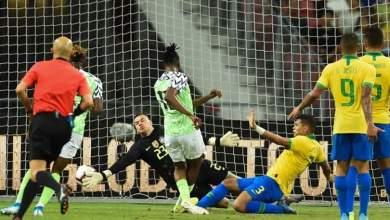 Photo of Eagles rating in Nigeria  1-1 draw vs Brazil: Aribo scores high; Iwobi & Onuachu on the low