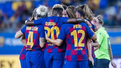 Photo of Barcelona 5 Logrono 0: Asisat Oshoala bags 5th league goal in 6 games