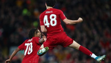 Photo of Watch Curtis Jones' stunner as Liverpool team B secure FA Cup win against Everton