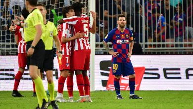 Photo of Spanish Super Cup: Atletico beat Barcelona to set up Madrid derby final