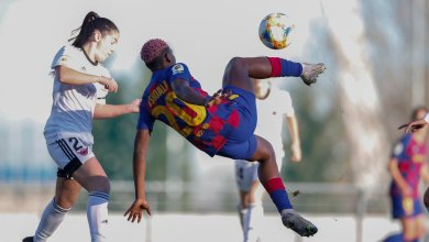 Photo of Asisat Oshoala marks african best award with four goals in Barcelona away win
