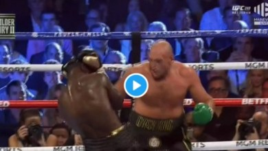 Photo of VIDEO: Watch as Fury batters Wilder, licks his blood and sends him to the canvas multiple times