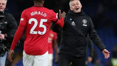 Photo of Solskjaer again reiterates why Ighalo is an important player for Man Utd