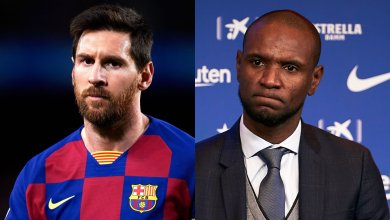 Photo of Barcelona president Josep Maria Bartomeu summons Eric Abidal for a meeting following a row with Lionel Messi